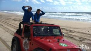 Running Man - on location in Australia
