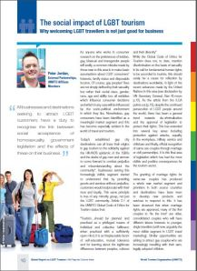 UNWTO Global Report on LGBT Tourism