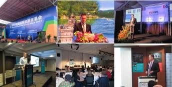 Global speaking engagements