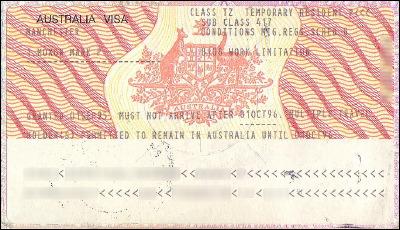 El visado de Trabajo y Vacaciones, acordado recientemente entre España y Australia